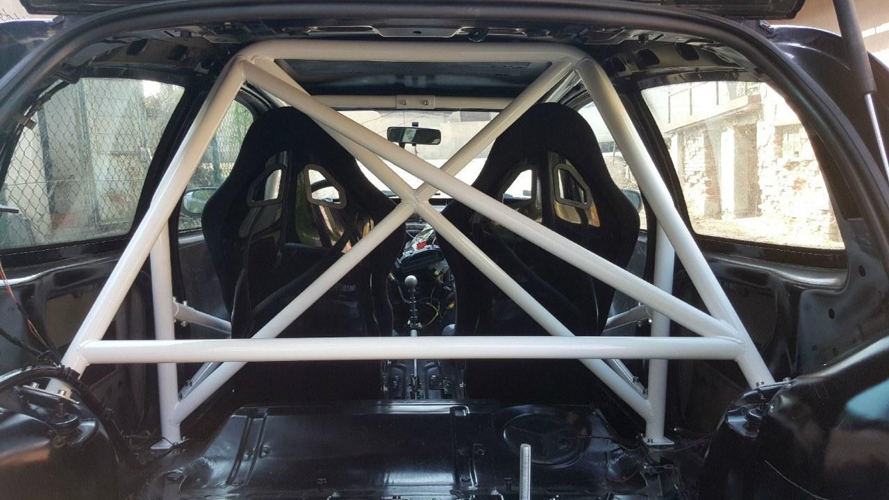 Rollbar Renault Clio II - Klatka skręcana - GRUBYGARAGE - Sklep Tuningowy